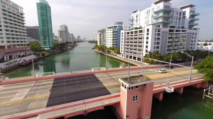 Aerial video bridge in Miami