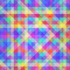 Abstract Geometric Colorful Background.