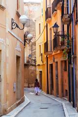 street in old town. Tarragona