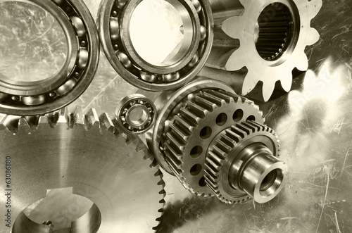 aerospace engineering gears and bearings