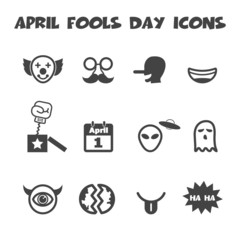 april fools day icons