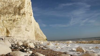 White cliff.