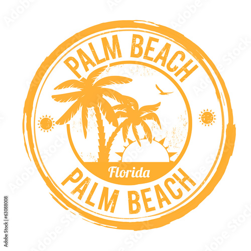 Palm Beach, Florida stamp