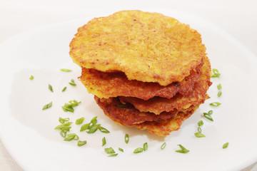 ruddy Potato pancakes,
