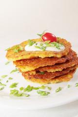 pancakes with tomato