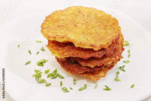 ruddy Potato pancakes,