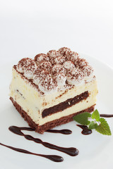 tiramisu with chocolate
