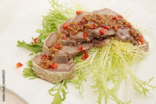 pork tongue