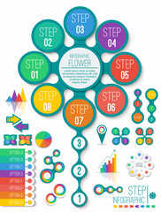 infographic design element