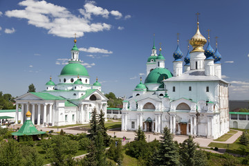 View of the Spaso-yakovlevski Monastery In Rostov. Russia