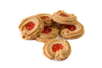 Danish butter cookies, a traditional holiday treat