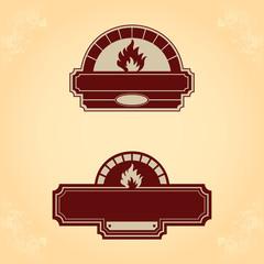 Firewood oven set 1