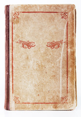 Old book cover with  ornament
