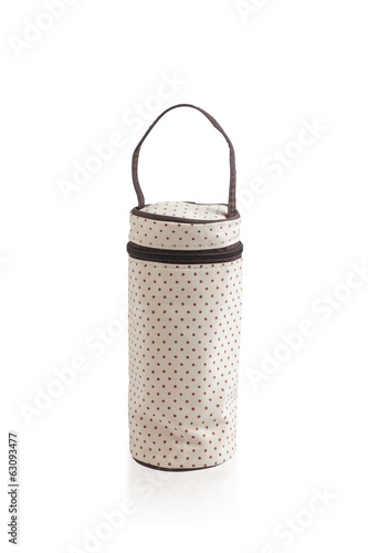 zipper bag for keeping baby milk bottle