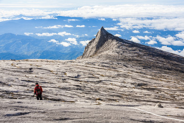 South Peak of Kinabalu mount