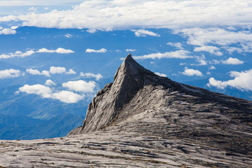 South Peak of Kinabalu mount
