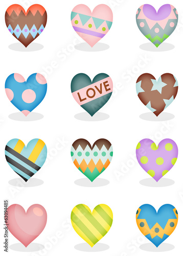Heart collection A
