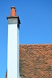 Blue Chimney and tiled roof