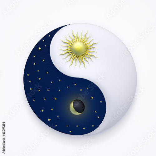 canvas print picture YinYang #34