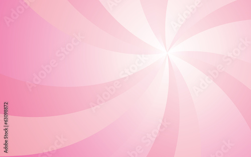 Valentine's Day pink background with curve light Rays