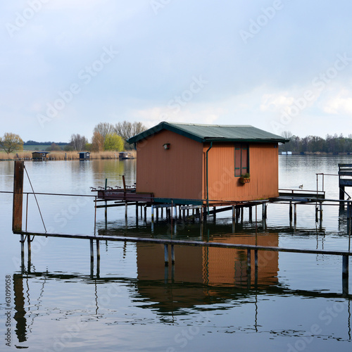 wooden Fishing Hut