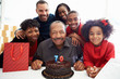 Family Celebrating 70th Birthday Together