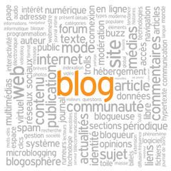 """Nuage de Tags """"BLOG"""" (réseaux sociaux médias news actualités)"""