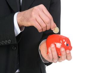 Euro nel salvadanaio, risparmio