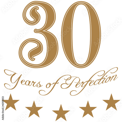 30 Years Perfektion Perfection Sterne