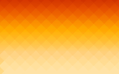 summer gradient orange square polygon pattern background