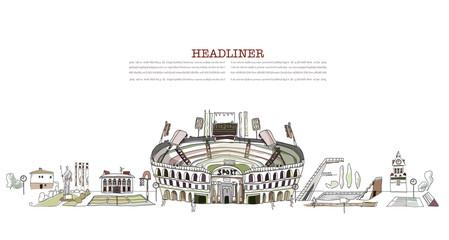 Stadium, sport center