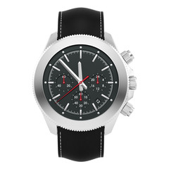 render of a watch, isolated on white