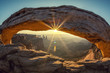 Mesa arch, special photographic processing