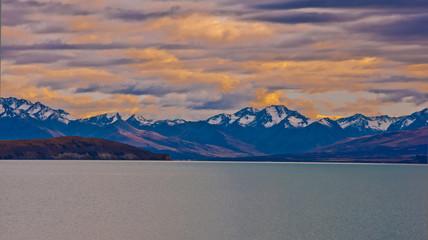 Mt Aoraki, the highest mountain in New Zealand, a magnificent ru