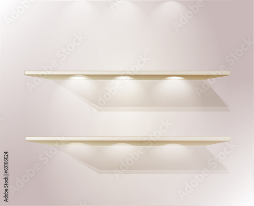 shelf template for your products