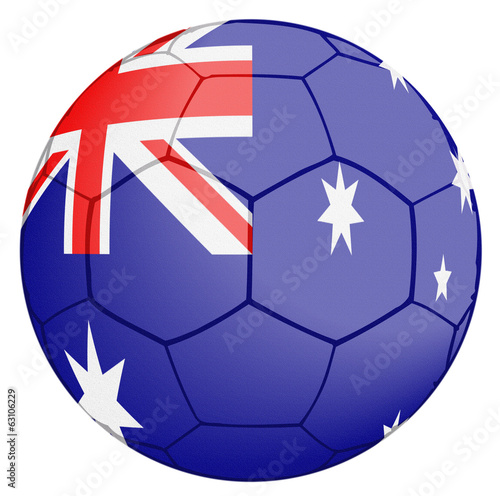 Australia Soccer Ball World Cup
