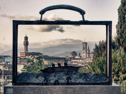 A striking view of Florence