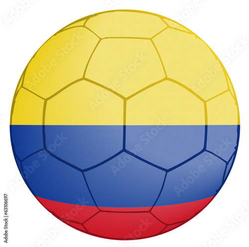 Columbia Soccer Ball World Cup