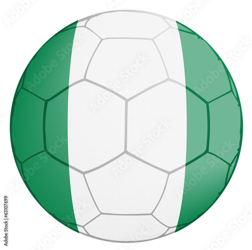 Nigeria Soccer Ball World Cup