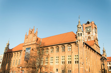 City Hall in Torun, Poland