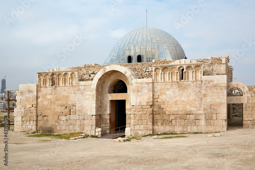 The Umayyad Palace in Amman, Jordan