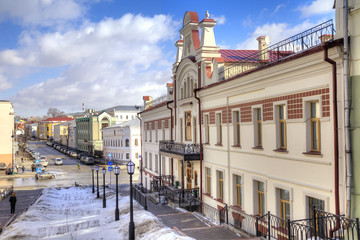 Street in the city of Kazan