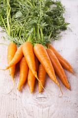 carote con ciuffo