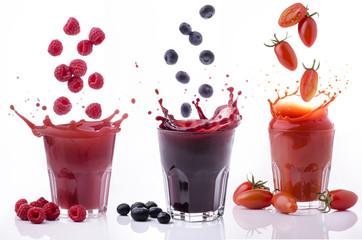 frutta e ortaggi splash