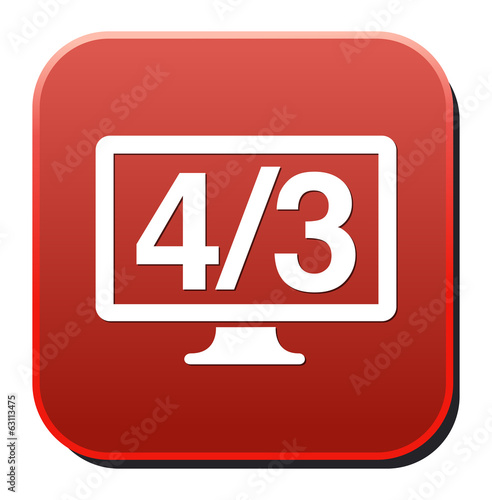 4 3 display icon