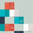 paper layout abtract design, vector