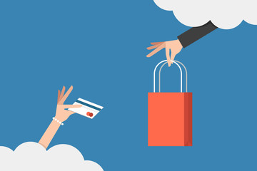 shopping on cloud