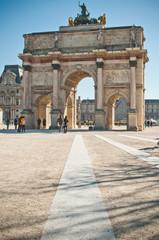 carrousel du Louvre jardin des Tuileries à Paris