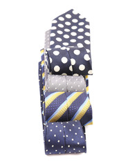 Four multi-colored tie