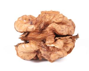 Close up of kernel walnut